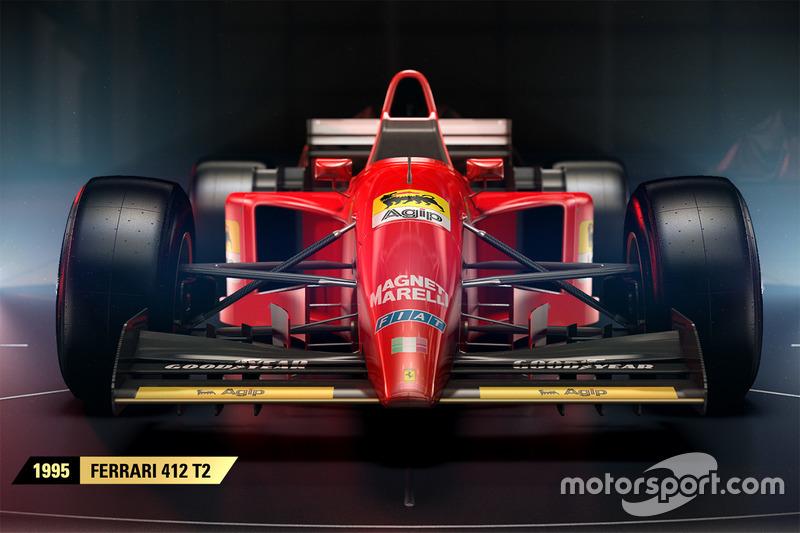 Ferrari 412 T2 1995 года, F1 2017
