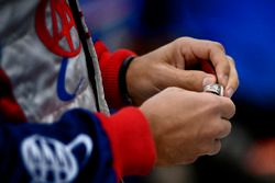 Helio Castroneves, Team Penske Chevrolet Indy 500 winners ring