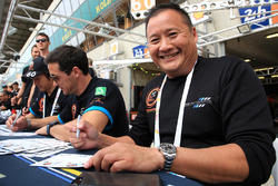 Richard Wee, Alvaro Parente, Hiroki Katoh, Clearwater Racing