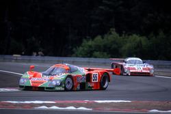 Volker Weidler, Johnny Herbert, Bertrand Gachot, Mazda 787B
