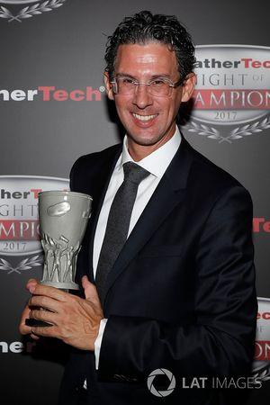 Tequila Patron North American Endurance Cup winnaar Dr. Frank-Steffen Walliser van Porsche