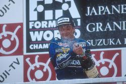 Подиум: победитель Риккардо Патрезе, Williams