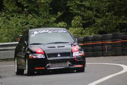 Joe Halter, Mitsubishi Lancer Evo VII, Racing Club Airbag, 1. Manche