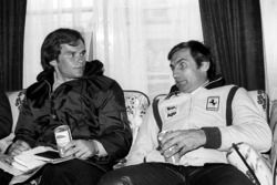 Peter Windsor, journalist met Carlos Reutemann, Ferrari