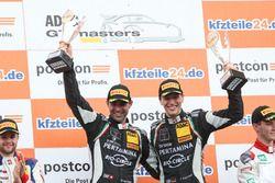 Podium: 1. #63 GRT Grasser Racing Team, Lamborghini Huracán GT3: Rolf Ineichen, Christian Engelhart