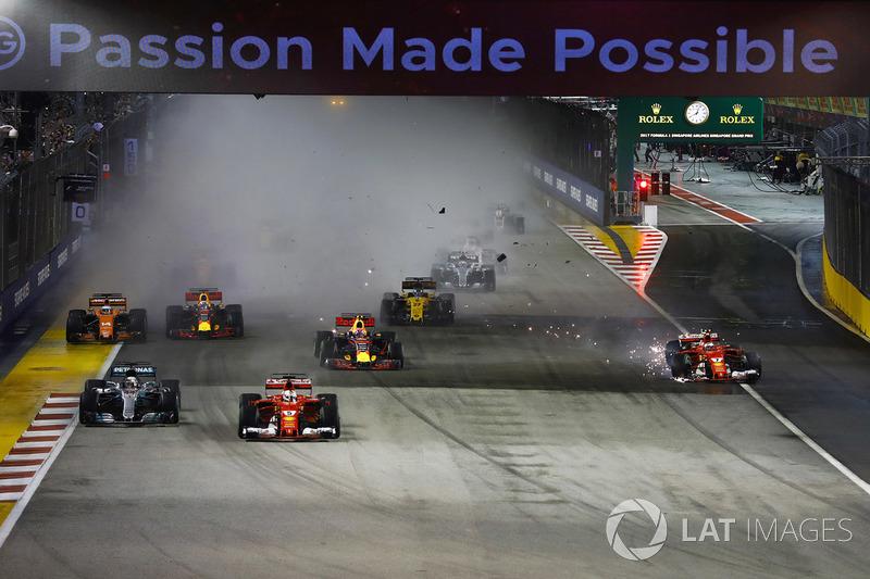 Un accidente que golpeó en la cara a Ferrari en un circuito favorable