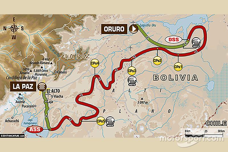 Etapa 6: Oruro - La Paz