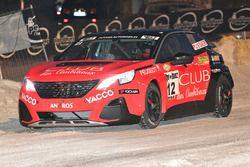 Sylvain Pussier, Pussier Auto-Réseau Peugeot, Peugeot 3008