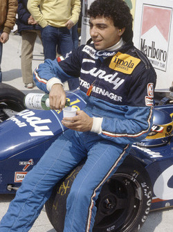 Michele Alboreto, Tyrrell Racing 011 Ford