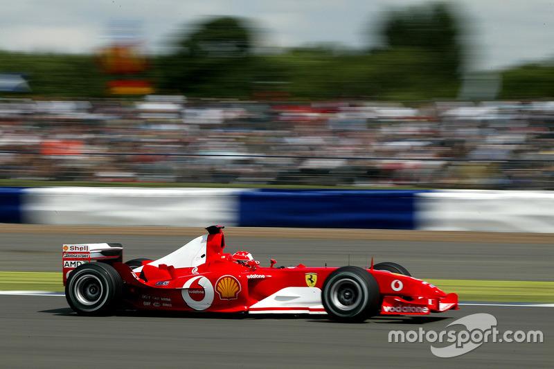 2003年:フェラーリF2003-GA