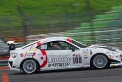 #100 AMUSE & SPV Racing Toyota FT86 Takashi Oi, Hitoshi Matsui, Takashi Ito, Kenny Lee