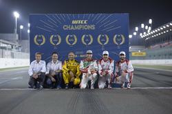 Alle FIA WTCC-Weltmeister, Roberto Ravaglia, Andy Priaulx, Gabriele Tarquini, LADA Sport Rosneft, La