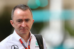 Paddy Lowe, director técnico ejecutivo de Mercedes AMG F1
