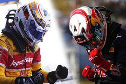 La lutte pour le titre GP2 Series : Antonio Giovinazzi et Pierre Gasly