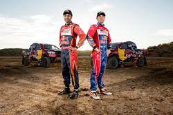 Nasser Al-Attiyah und Giniel De Villiers, Toyota Gazoo Racing