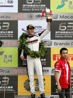 Podium: third place Kévin Estre, Manthey Racing Porsche 911 GT3-R