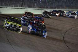 John Hunter Nemechek, NEMCO Motorsports Chevrolet, Tyler Reddick, Brad Keselowski Racing Ford