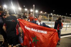 Vlag van Mehdi Bennani, Sébastien Loeb Racing, Citroën C-Elysée WTCC