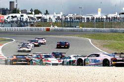 Start zum Rennen, Dreher von #99 Precote Herberth Motorsport, Porsche 911 GT3 R: Robert Renauer, Sve