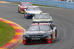 Dakoda Armstrong, JGL Racing Toyota, Ryan Sieg, RSS Racing Chevrolet