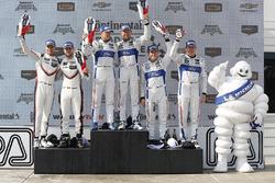 GTLM, podium: Ganadores, Dirk Müller, Joey Hand, Chip Ganassi Racing Ford, segundos, Gianmaria Bruni