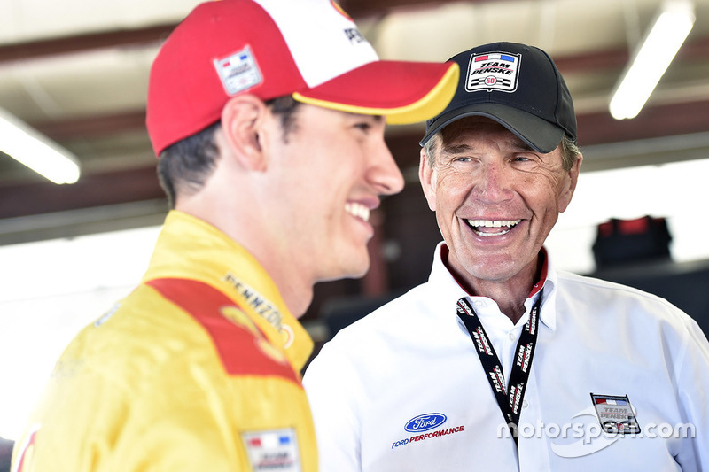 Joey Logano, Walter Czarnecki, Executive Vice President at Penske Corp.