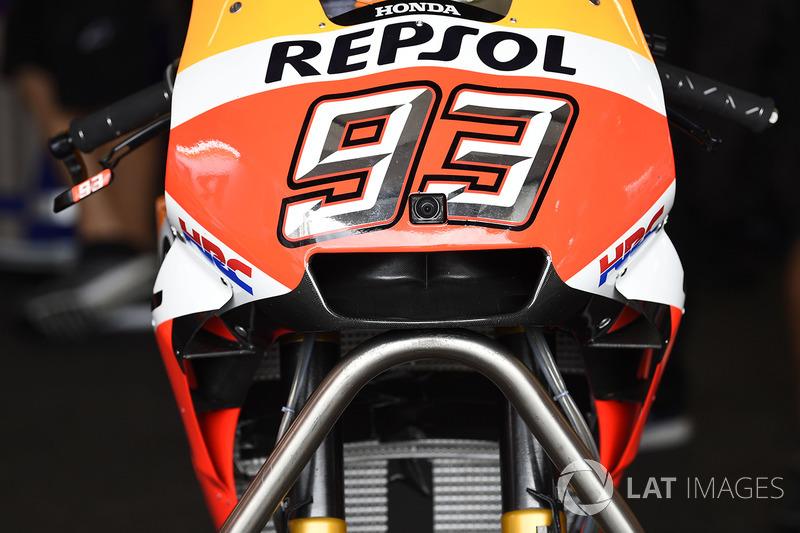 Marc Márquez, Repsol Honda Team moto con el carenado
