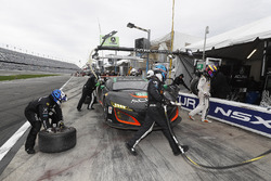La #86 Michael Shank Racing Acura NSX: Oswaldo Negri Jr., Jeff Segal, Tom Dyer, Ryan Hunter-Reay aux stands