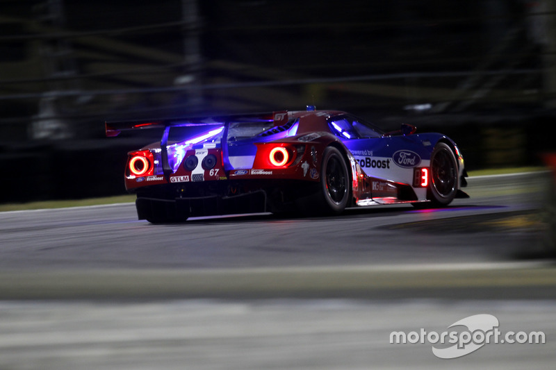 10. GTLM: #67 Ford Performance Chip Ganassi Racing, Ford GT