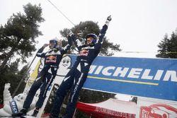 Winners Sébastien Ogier, Julien Ingrassia, M-Sport