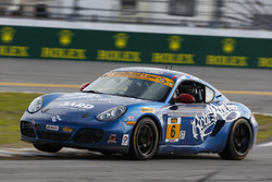 #6 Rebel Rock Racing, Porsche Cayman: Trevor Knight, Shane Lewis