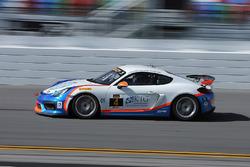 #4 Team TGM, Porsche Cayman GT4 MR: Ted Giovanis, Guy Cosmo, Hugh Plumb