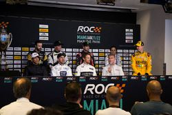 Press Conference with Helio Castroneves, Tony Kanaan, Jenson Button, David Coulthard, James Hinchcli