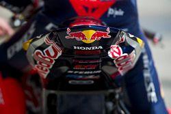 Detail of the bike from Honda World Superbike Team