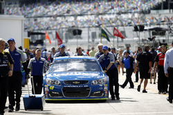 The car of Jimmie Johnson, Hendrick Motorsports Chevrolet