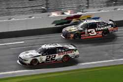 Brad Keselowski, Team Penske Ford and Ty Dillon, Richard Childress Racing Chevrolet