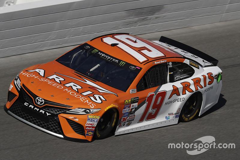Unfall: Daniel Suarez, Joe Gibbs Racing, Toyota