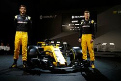 Nico Hulkenberg, Renault Sport F1 Team Y Jolyon Palmer, Renault Sport F1 Team