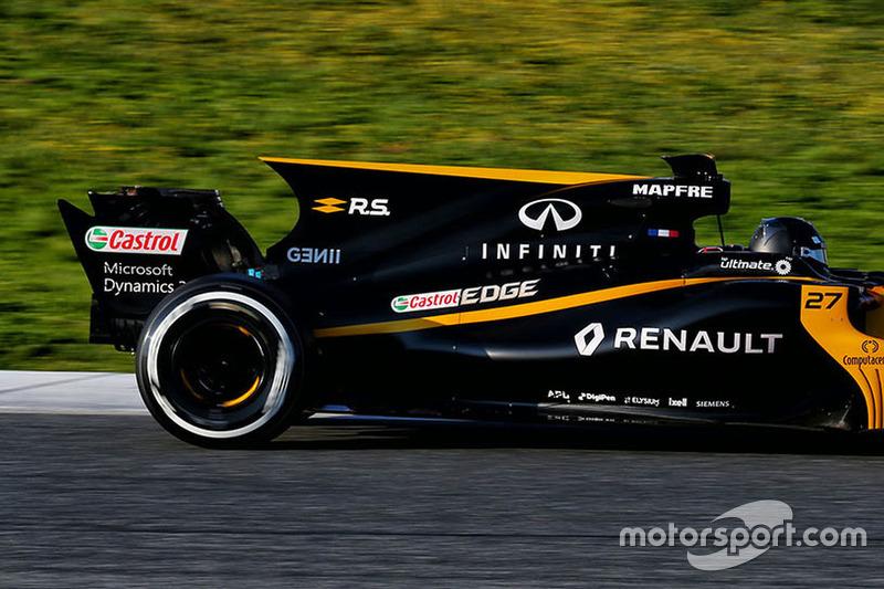 2017: Nico Hulkenberg, Renault Sport F1 Team RS17