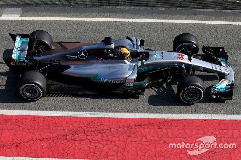 2017: Mercedes F1 W08