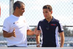 Devlin Defrancesco and Juan Pablo Montoya