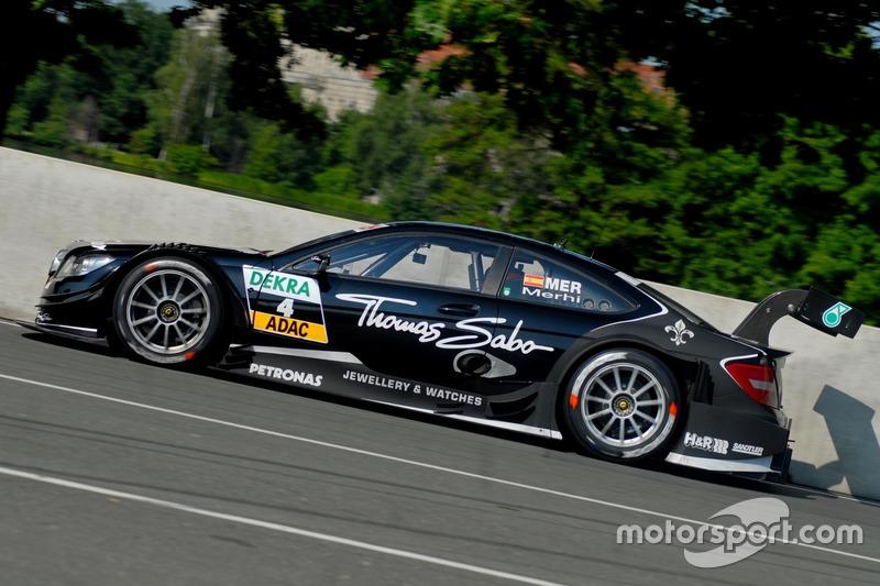 Роберто Мери, Mercedes C-Coupé DTM, Норисринг-2013