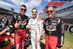 Garth Tander, Holden Racing Team, Craig Lowndes, Triple Eight Race Engineering Holden, James Courtney, Holden Racing Team