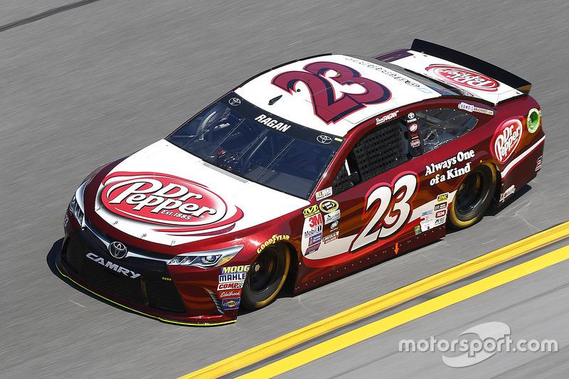#23 David Ragan (BK-Toyota)