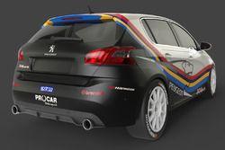 Peugeot 308 Mi16, CIT, 2t Course & Reglage