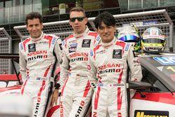 Rick Kelly, Florian Strauss and Katsumasa Chiyo, Nissan Motorsports