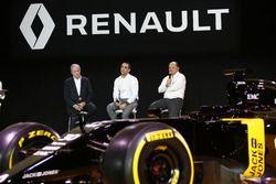 Jerome Stoll, Renault Sport F1 Präsident mit Cyril Abiteboul, Renault Sport F1 Managing Direktor und
