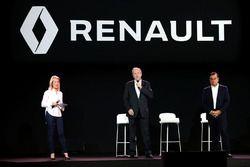 Jerome Stoll, Renault Sport F1 President met Carlos Ghosn, voorzitter Renault