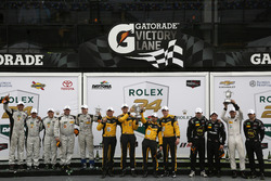 Podium PC: Winner #85 JDC/Miller Motorsports ORECA FLM09: Chris Miller, Mikhail Goikhberg, Stephen Simpson, Kenton Koch; 2nd #52 PR1 Mathiasen Motorsports Oreca FLM09: Robert Alon, Tom Kimber-Smith, Jose Gutierrez, Nick Boulle; 3rd #20 BAR1 Motorsports Oreca FLM09: Johnny Mowlem, Tomy Drissi, Marc Drumwright