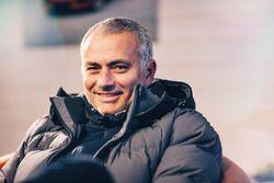 José Mourinho drives the Jaguar F-Pace